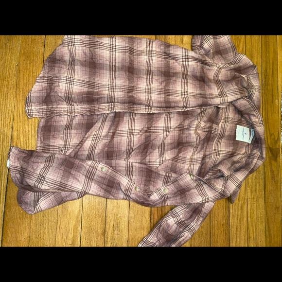 American Eagle Outfitters Jackets & Blazers - boyfriend flannel!